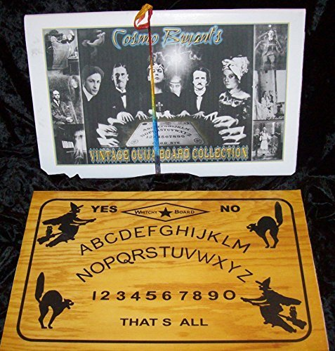 Cosmo Bryant CAT & Witch Halloween Vintage Ouija Board Replica -