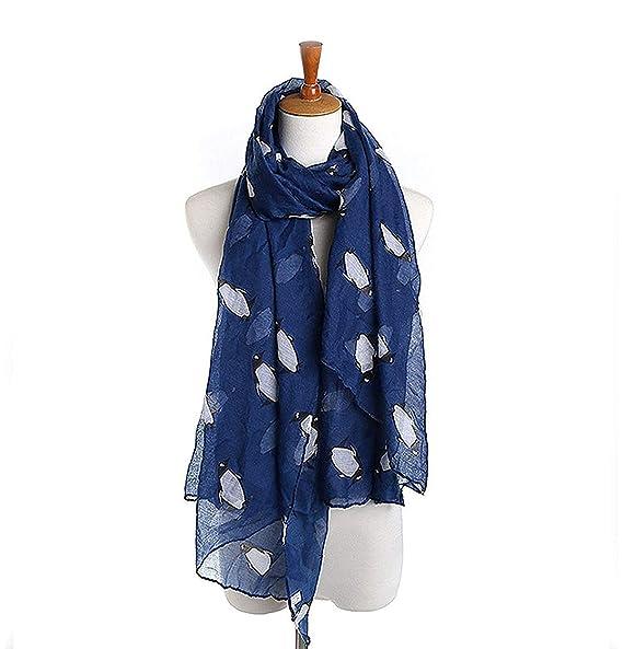 e7f8c03169869 2019 spring and autumn Chiffon Scarf penguin scarf scarves female ...