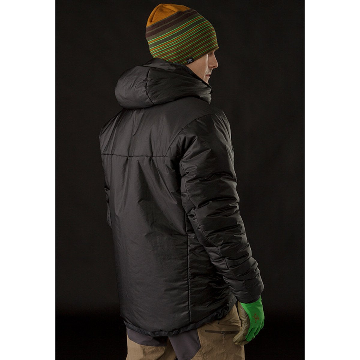 Dually belay parka homme