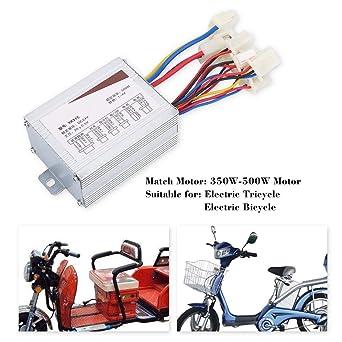 24V 500W Controlador de Motores,Controlador Cepillo Controlador de Motor 24V Controlador de Bicicleta Electrica de Motor Cepillado para Bicicletas Eléctricas y Scooter E-bike: Amazon.es: Industria, empresas y ciencia