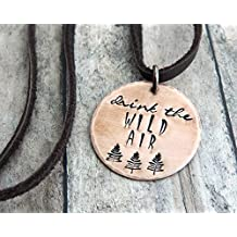 Drink the Wild Air Copper Necklace