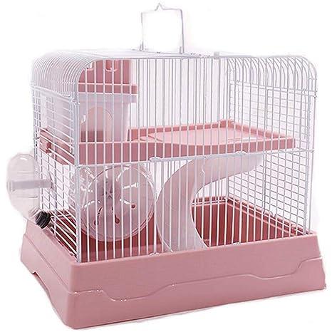 Gouwo Hamster Jaula, portátil pequeña Jaula Animal, diseño Ultra ...