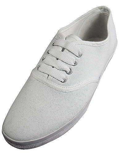 Womens Canvas Shoe Big Blue Yes Shoe Laces