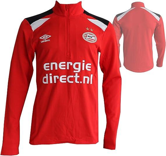 UMBRO PSV Eindhoven - Camiseta de fútbol (talla S), color rojo: Amazon.es: Ropa y accesorios