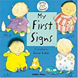 My First Signs, Annie Kubler, 1904550045