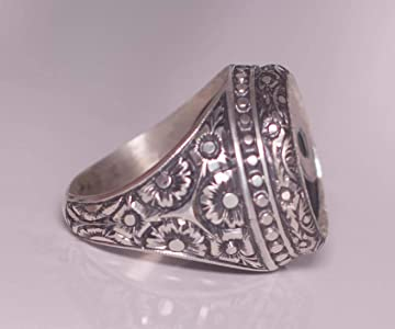 Steel Pen Craft Falcon Jewelry Davud Star Jewish Ring Free Express Shipping 925 Sterling Silver Mens Ring