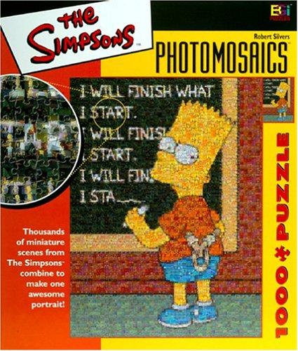 Simpsons Photomosaic Bart Jigsaw Puzzle 1026pc