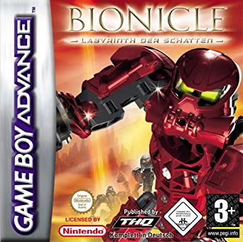 Lego Bionicle Labyrinth Der Schatten Game Boy Advance Amazonde