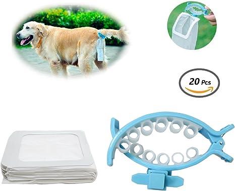 Ondo Hands Free Dog Poop Collector Scooper suave silicona perro ...