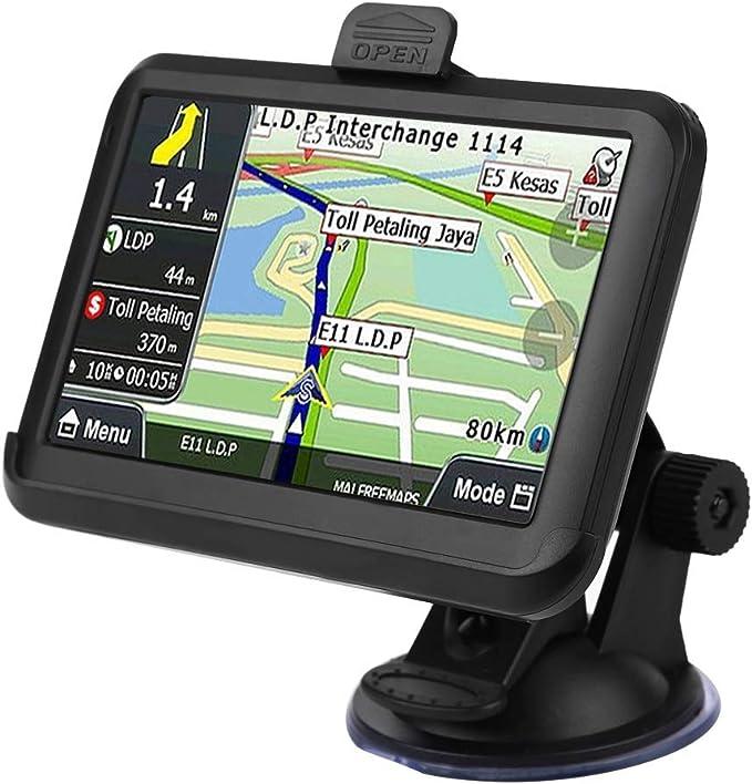 Kste Navigation Für Auto Universal 5 Zoll Screen Auto Navigator Gps Navigation 256mb 8gb W Back Clip Auto
