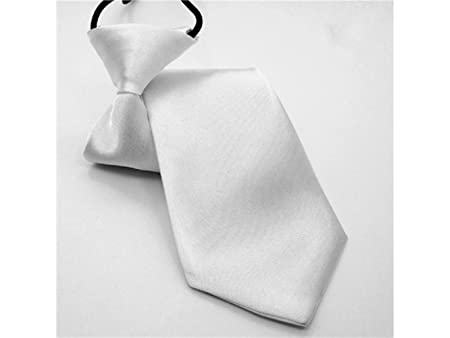 JxucTo Corbata Tejida de Microfibra con Lazo elástico para niño ...