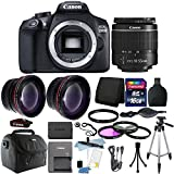Cheap Canon EOS Rebel 1300D / T6 18MP DSLR Camera with 18-55mm EF-S f/3.5-5.6 Lens + 16GB Accessory Kit