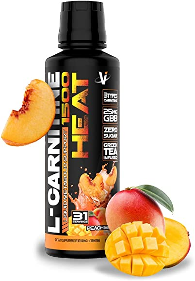 VMI Sports L-Carnitine Liquid Heat 1500 Thermogenic Fat Burner