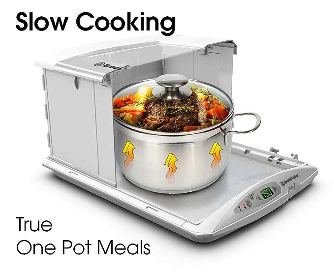 Amazon.com: Plegable Pan Proofer y yogurtera con función de ...