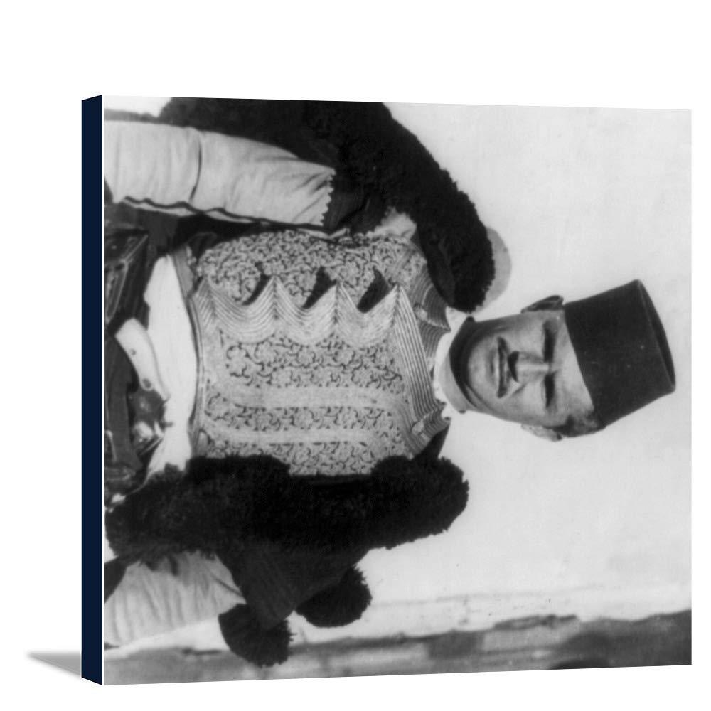 アルバニアのShkypetarsメンズThe Eagle写真 24 x 20 3/8 Gallery Canvas LANT-3P-SC-4793-24x36   B0184A0SOU