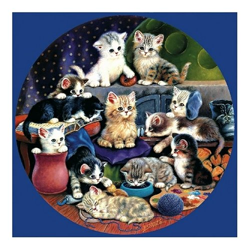 Playmates kittens cats Jigsaw Puzzle 1000pc