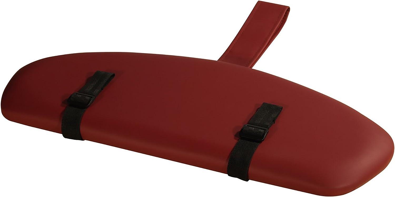Master Massage Tables Standard Universal Armrest Support Shelf for Massage Table, Burgundy: Health & Personal Care