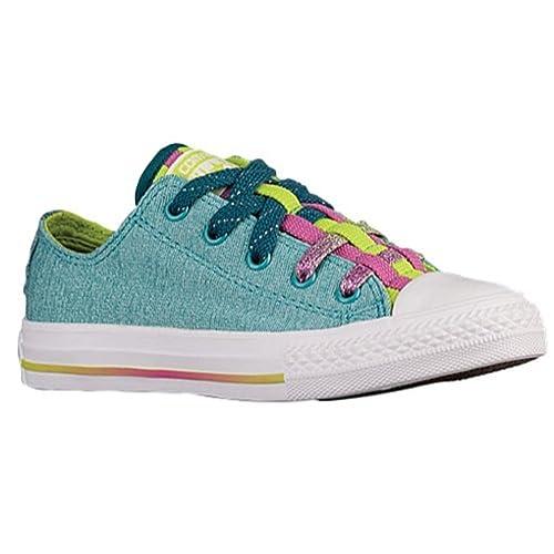 8247df48373e Converse Girls Loopholes Big Kid Casual Shoes Blue 5.5 Medium (B