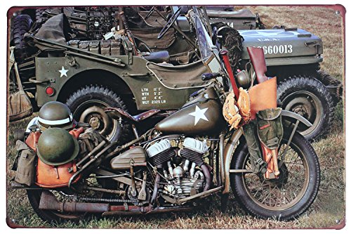 88 store War Cars HL Motorcycle Vintage Metal Tin Sign Plaque Wall Art Poster Cafe Bar Pub Beer