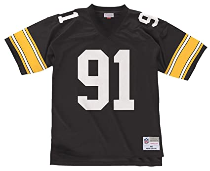 1257ce07c78 Mitchell   Ness Kevin Greene Pittsburgh Steelers NFL Throwback Premier  Jersey ...