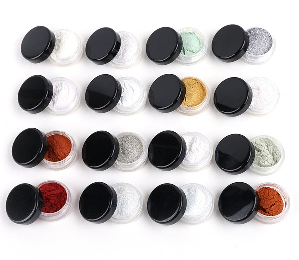 Bekith 108 set Clear Empty 5 Gram/5ML Plastic Pot Jars, BPA Free Cosmetic Sample Empty Container, Black Screw Cap Lid, for Make Up, Eye Shadow, Nails, Powder, Paint, Jewelry by Bekith (Image #3)