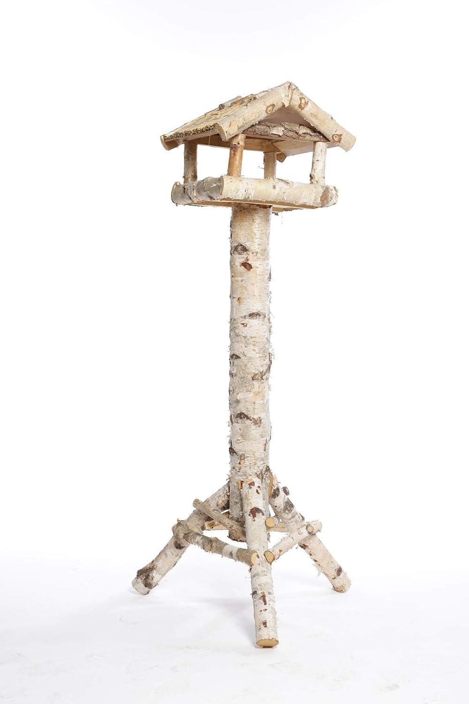 Weidenprofi Vogelhauser Vogelhaus Mit Standfuss Aus Birkenholz