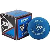 Dunlop Sports Squash Double Red Dot Hardball - Bola dura (12 unidades), color azul