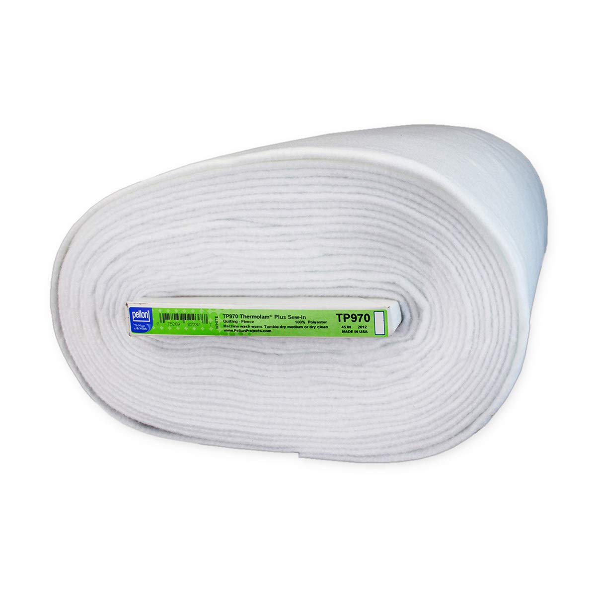 Pellon TP970 Thermolam Plus Sew-In -Needle Punched (Bolt 20 Yard) White by Pellon