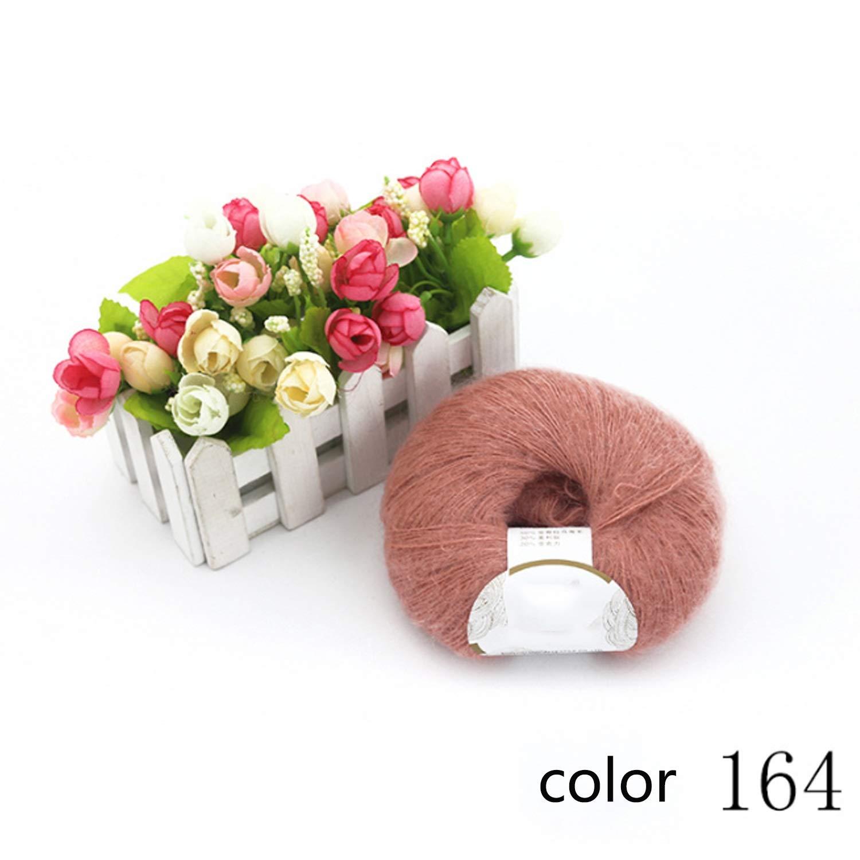 Col 164 1KG Shengjuanfeng Yarn knitting yarn medium Fine hand crochet coat scarf yarn 1 5.5 NM multicolor selectable 1 kg (color   COL 058, UnitCount   1KG)