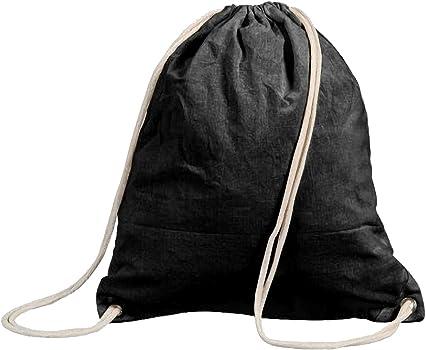 Shugon Stafford - Mochila de cordones (algodón, 13 L) negro negro ...