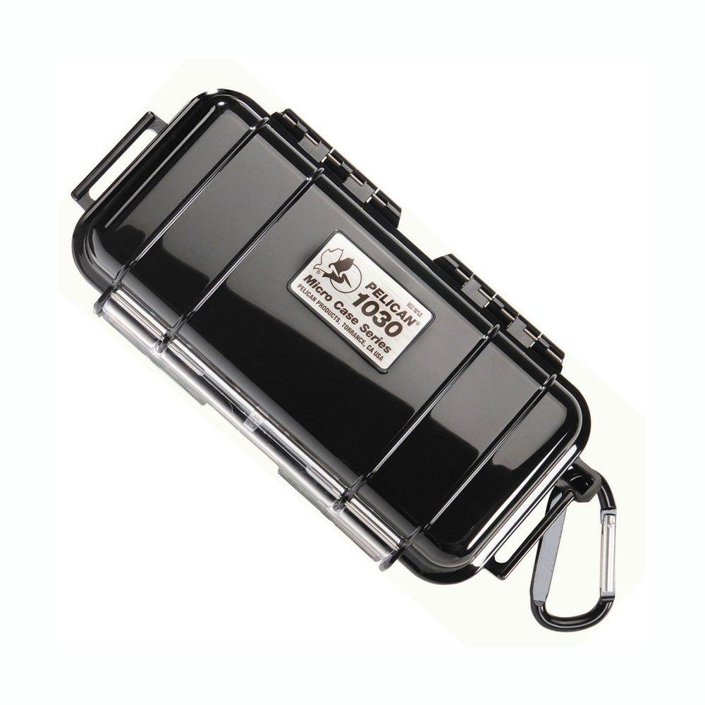 Black Pelican Micro Case Solid 7.5 x 3.88 x 2.44 1030-025-110