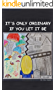 It's Only Ordinary If You Let It Be: TARART (English Edition)