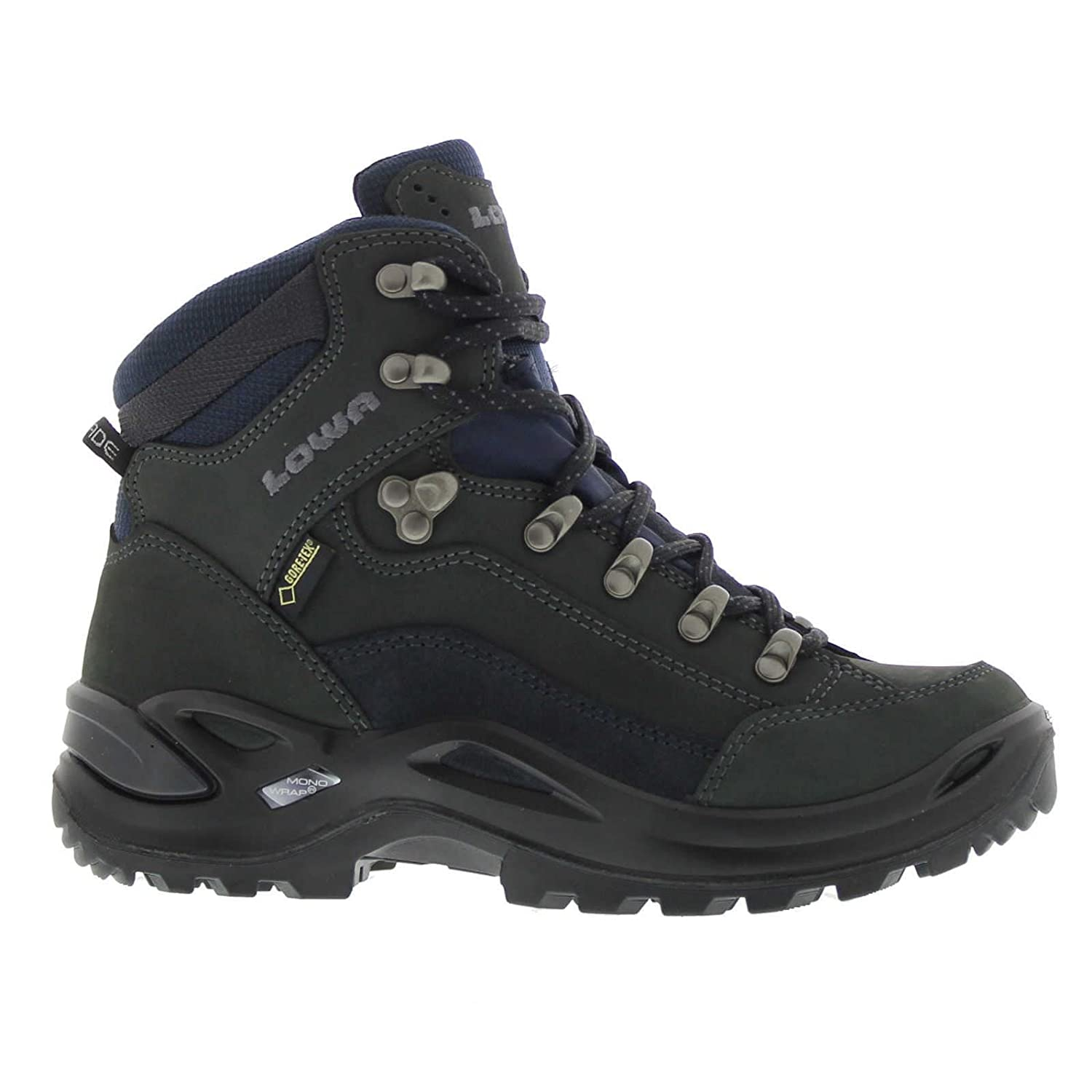 Lowa Women's Renegade GTX Mid Hiking Boot B002MPPVQO 7 B(M) US|Dark Grey/ Navy