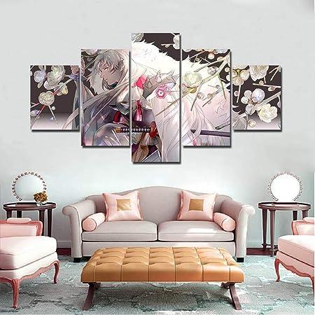 Lienzo HD Impresiones Imágenes Arte De La Pared 5 Piezas ...