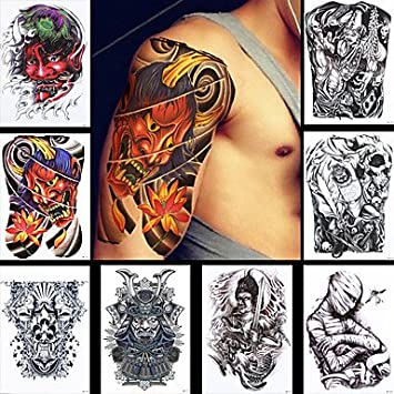 OOFAYZBL® producto de pintura tatuaje imagen horrible calavera ...