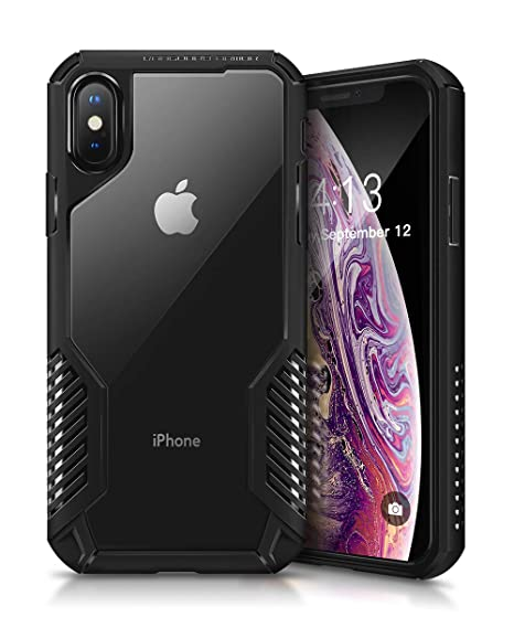 cheap for discount 7b13a 8b66d MOBOSI Vanguard Armor Designed for iPhone X/XS Case, Full Body Rugged Cell  Phone Cases, Heavy Duty Military Grade Shockproof Drop Protection Cover for  ...