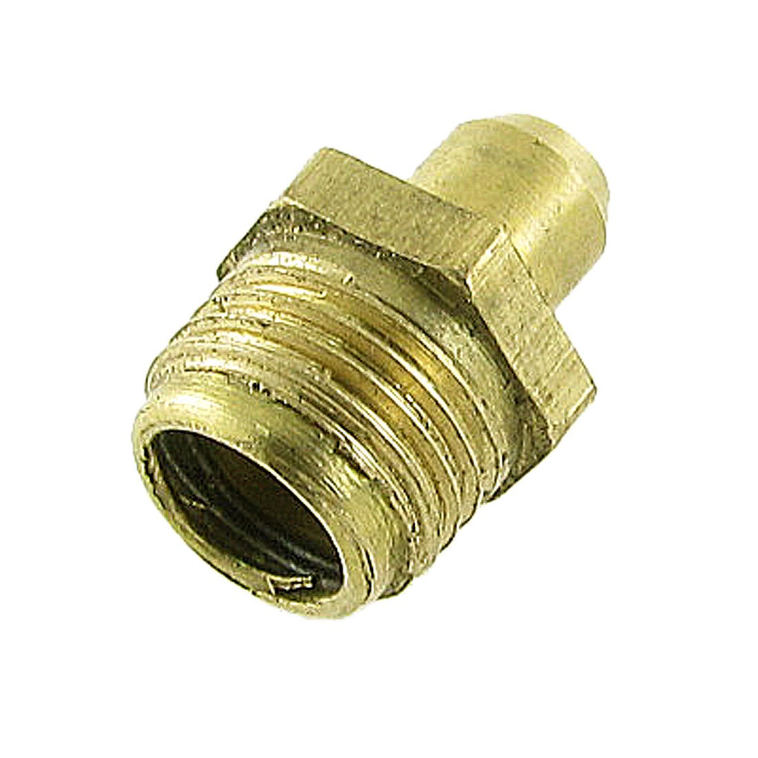 sourcingmap Brass Male Thread 10mm M10 Straight Hydraulic Grease Nipple a11121000ux0054