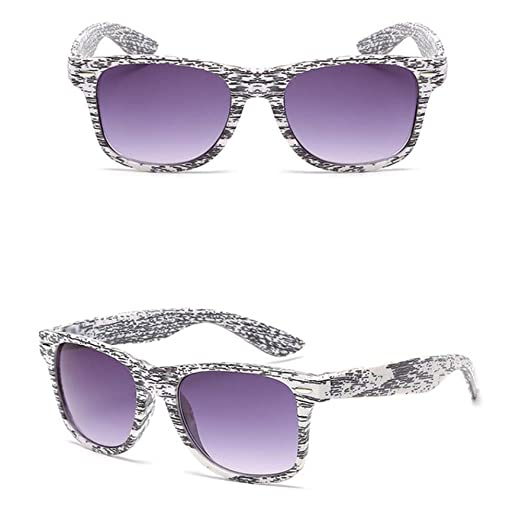 Yangjing-hl Gafas de Sol Mujer Imitación Gafas de Madera ...