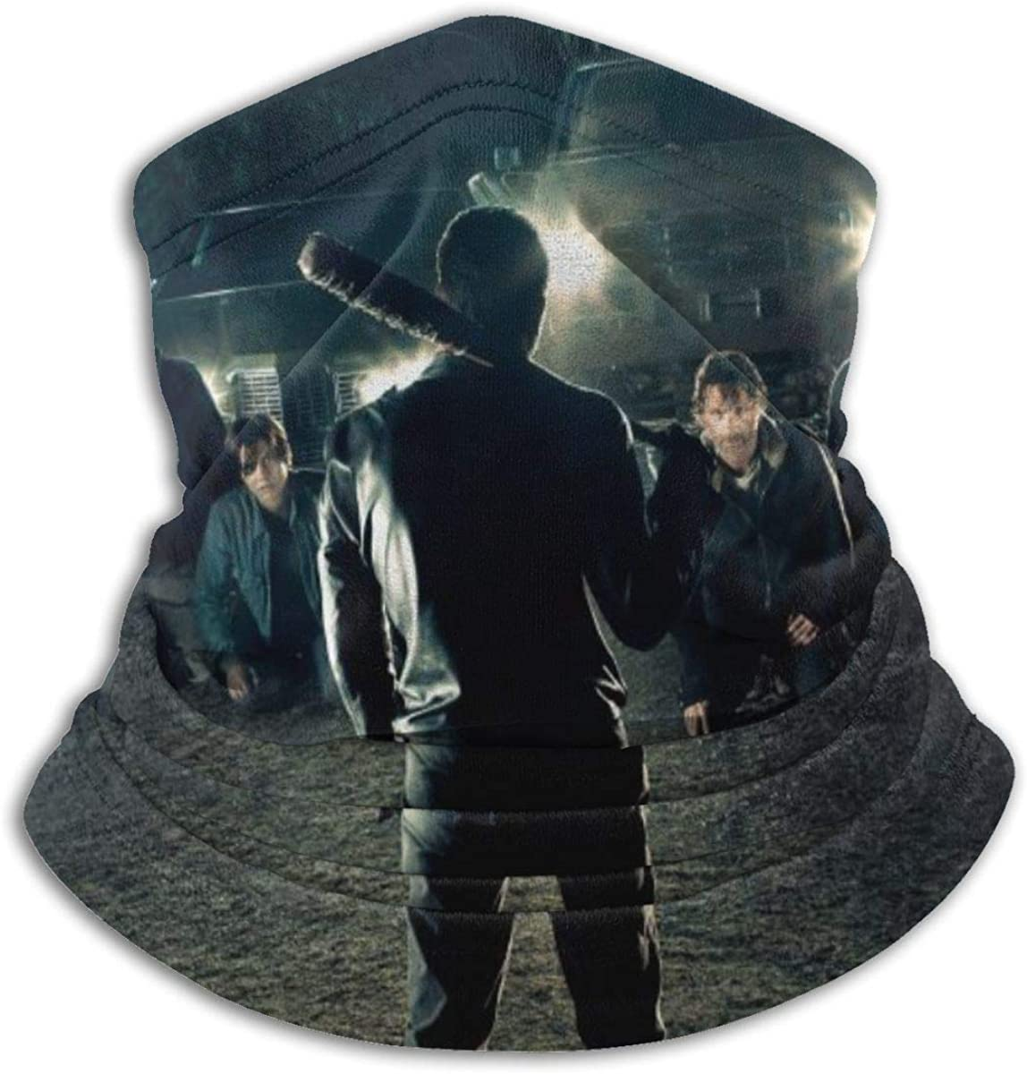 The Walk-ing Dead Microfiber Tube Neck Warmer Face Mask Shield Protective Bandana Headband & Beanie
