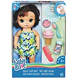 Baby Alive Magical Scoops Baby Doll (Brunette), Ages 3 up