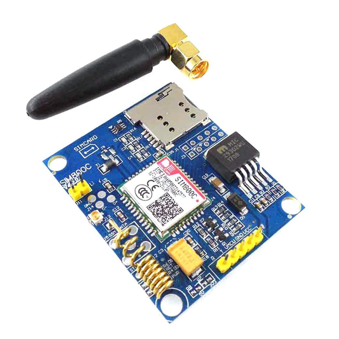 YXTFN SIM800C Development Board Quad-Band GSM GPRS Module Supports with Antenna