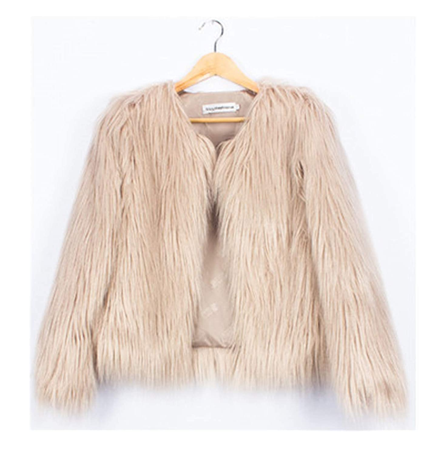 Stylish Jackets for Girls Autumn Kids Coats Baby Girl Faux Fur Outerwear 2-10Y