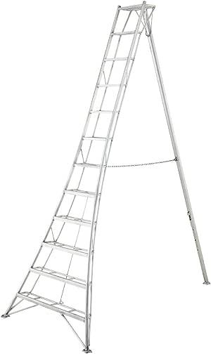 3-Holm-jardín Head Niwaki 360 cm // Jardín de escalera, 3-Holm Jefe, trípode de escalera, regulable en altura con certificación TÜV: Amazon.es: Bricolaje y herramientas