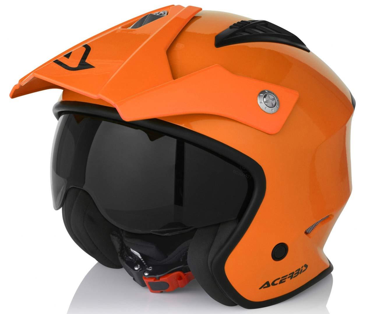 Acerbis CASCO JET ARIA M (57/58) Neon Orange 0022569.014.064