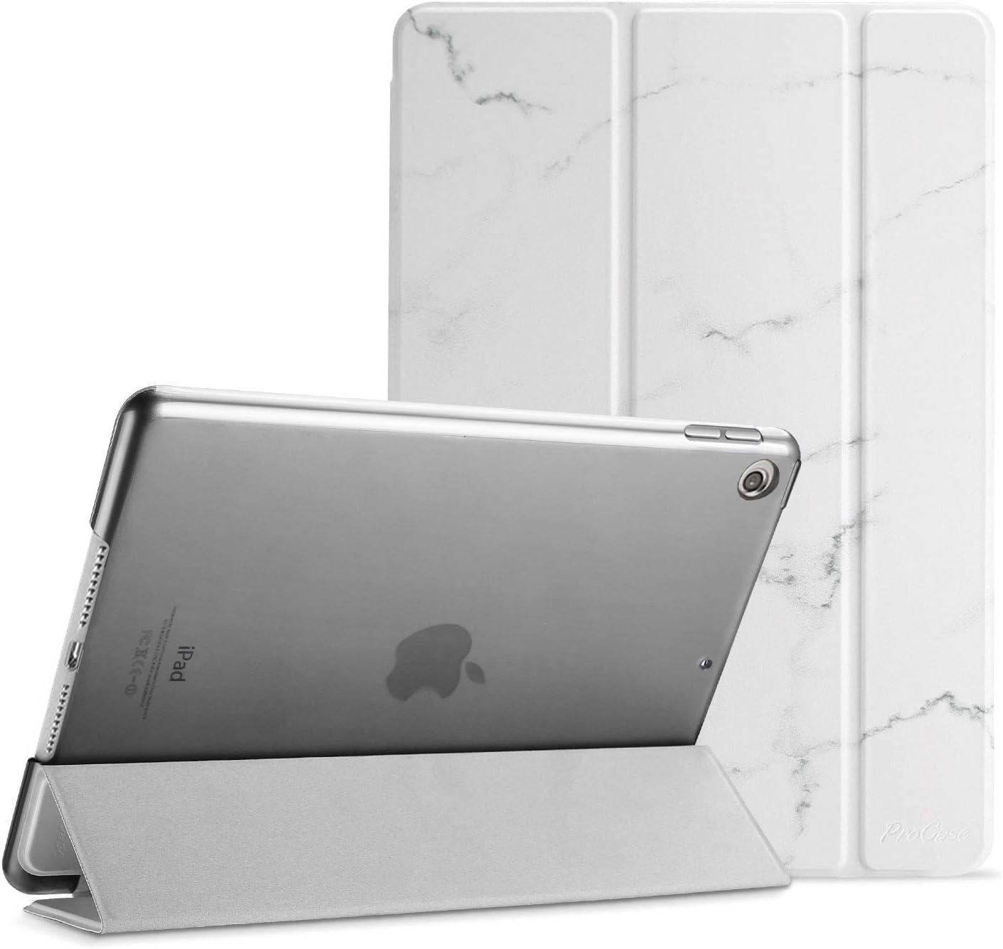 Funda protectora para iPad 7th Gen 10.2–Material blanco