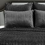 Brielle-Premium-Heavy-Velvet-Quilt-Set-with-Cotton-Backing-FullQueen-Charcoal
