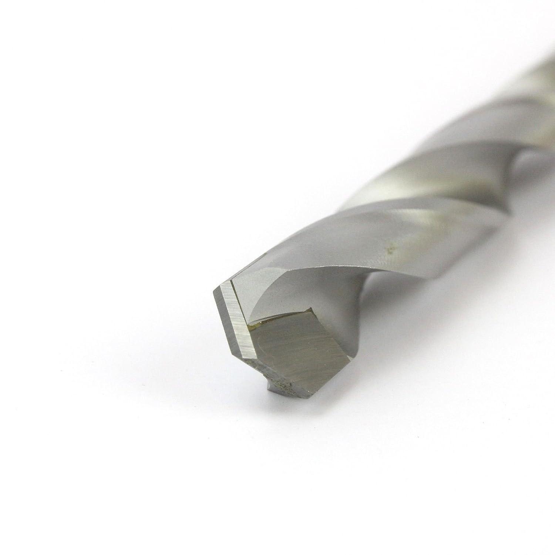 JORAN 10.7MM TCT CARBIDE TIP HSS JOBBER METAL DRILL BIT FOR HARDENED STAINLESS STEEL