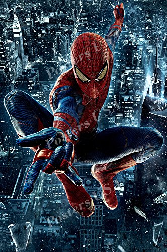Posters USA - Marvel Amazing Spiderman Textless Movie Poster GLOSSY FINISH - FIL298 (24