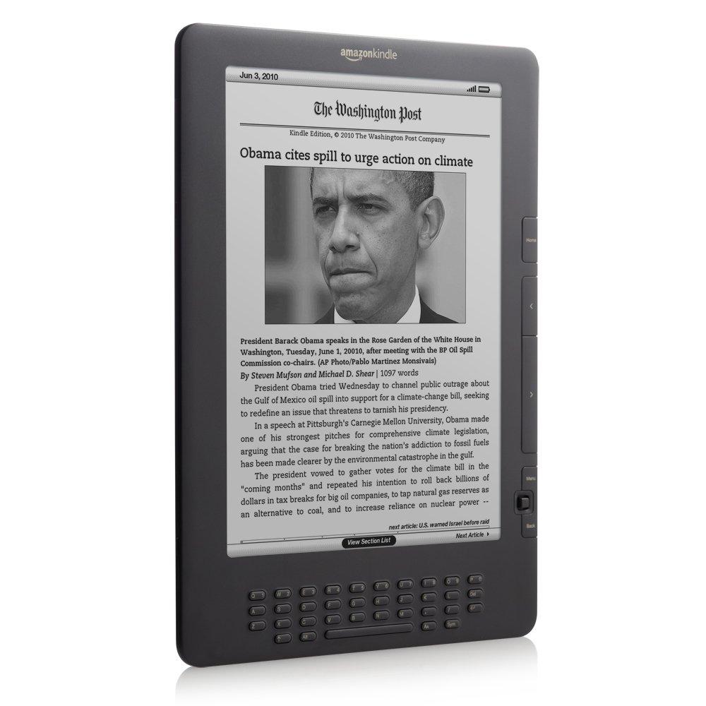 Amazon: Kindle Dx, Free 3g, 97