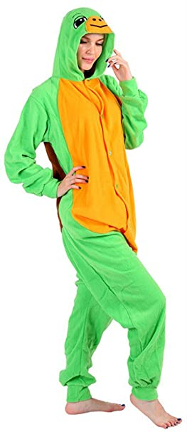 e6d3a1526 Amazon.com  Turtle Onesie Pajama Costume (X-Large)  Clothing